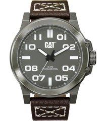 reloj chicago gris oscuro cat
