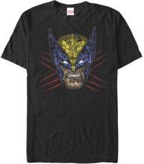 fifth sun men's wolverine full short sleeve crew t-shirt
