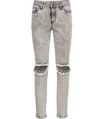 pantaloni con perle (grigio) - rainbow