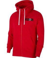 buzo capotado nike just do it hoodie hombre