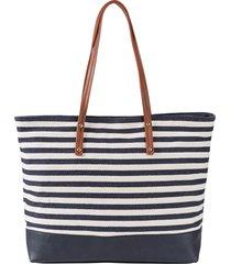 borsa shopper maritim (blu) - bpc bonprix collection