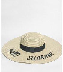 sombrero beige nuevas historias