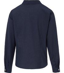 blouse met lange mouwen van mayfair by peter hahn blauw