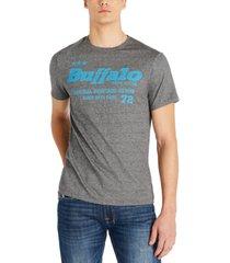 buffalo david bitton men's tobelt logo t-shirt