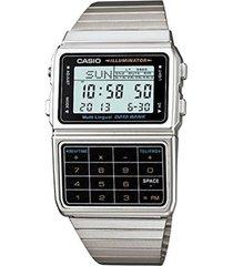 dbc-611-a  reloj calculadora retro para hombre