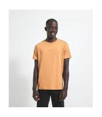 camiseta com estampa perfectionist | request | amarelo | p
