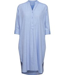 kate tunic dress chambray tuniek blauw moshi moshi mind