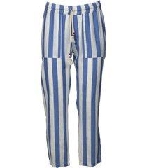 mc2 saint barth calais stripe trousers