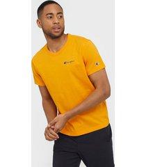 champion reverse weave crewneck t-shirt t-shirts & linnen orange