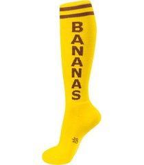 bananas socks | cool knee high socks