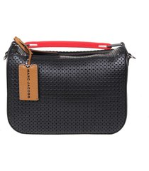marc jacobs the soft box bag in perforated leather