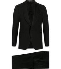 tagliatore slim-fit suit set - black