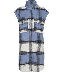 ethel waistcoat vests knitted vests blå second female