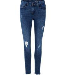 skinny jeans nmlucy cropped regular waist