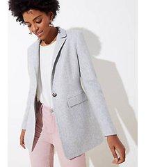 loft petite long modern blazer