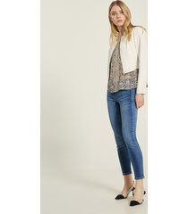 motivi jeans skinny mid wash modello gisele donna blu