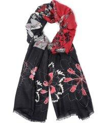 pañuelo foulard patch multicolor desigual