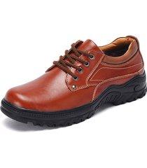 scarpe da lavoro in pelle antiscivolo per uomo