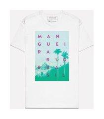 camiseta casal do samba mangueira casual reserva branco