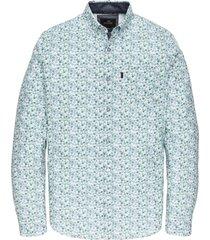 overhemd vanguard blauw dessin