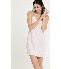 camisola marisa estampa bolinhas alças finas feminina