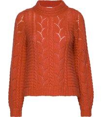 pullover stickad tröja orange noa noa