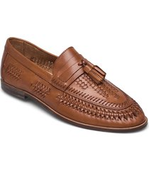 burlingtons loafers låga skor brun dune london