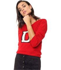 sweater rojo nano janice
