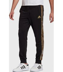 pantalón de buzo adidas performance m camo pt negro - calce regular