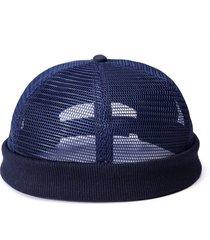 cappello in cotone traspirante regolabile da uomo