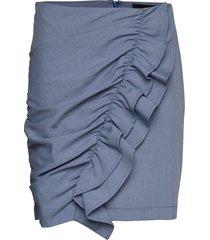 balco skirt kort kjol blå birgitte herskind