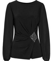 maglia con maniche in rete (nero) - bodyflirt boutique
