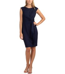 trina turk phase tie-waist dress