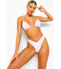 essentials hipster bikini broekje met v-inkeping