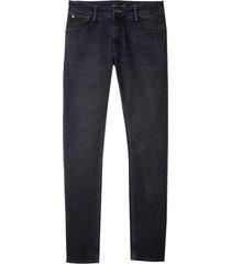 calça dudalina jeans washed black masculina (jeans black medio, 48)
