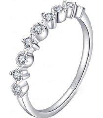 anillo cinta blanca casual arany joyas