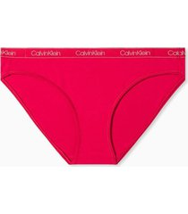 panties bikini cotton essentials rosa calvin klein