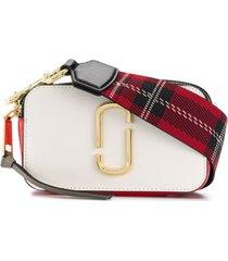 marc jacobs bolsa tiracolo 'snapshot' de couro - estampado
