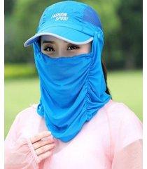 nuevas damas al aire libre transpirable sol sombrero-zafiro