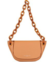 simon miller s821 bend leather shoulder bag