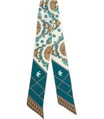 foulard donna in seta twill