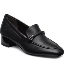 woms slip-on shoes heels pumps classic svart tamaris