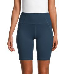 x by gottex women's bike shorts - cobalt - size xs