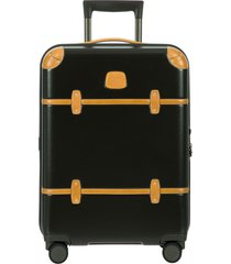 bric's bellagio 2.0 21-inch rolling carry-on - black