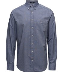 the oxford shirt reg bd skjorta business blå gant