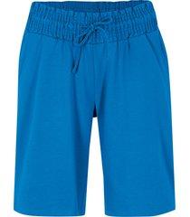 shorts di jersey in cotone biologico (blu) - bpc bonprix collection
