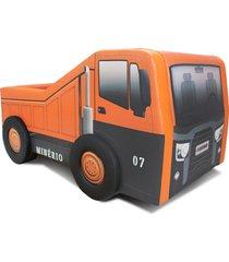 cama infantil vasculante - cama carro laranja - laranja - dafiti