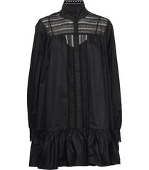 elorie korte jurk zwart custommade