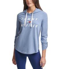 tommy hilfiger sport graphic logo hoodie