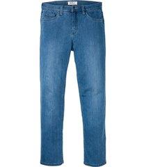 jeans elasticizzati ultra morbidi regular fit straight (blu) - john baner jeanswear